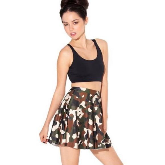 08e5fe28f8d8 Blackmilk Skirts | Commando Skater Skirt | Poshmark